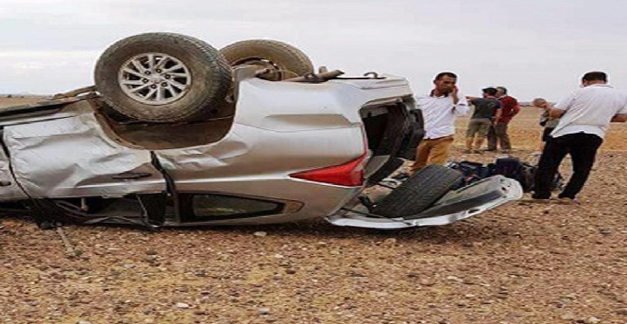 سطات.. مصــرع  طفلة وإصابة عدد من الأشخاص في حادث انقلاب سيارة
