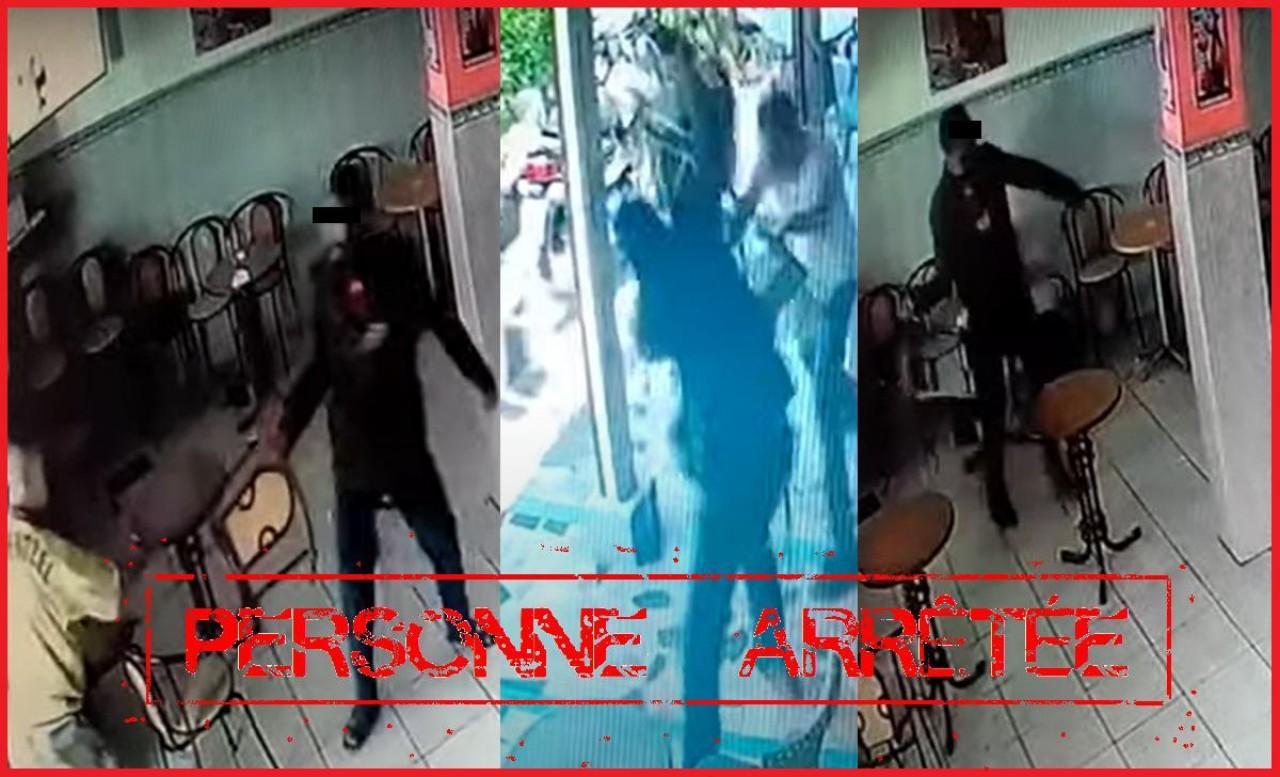 أمن سلا يتفاعل مع مقطع فيديو متداول يوثق هجوم شخص على مقهى وتعريض سلامة الناس للخطر