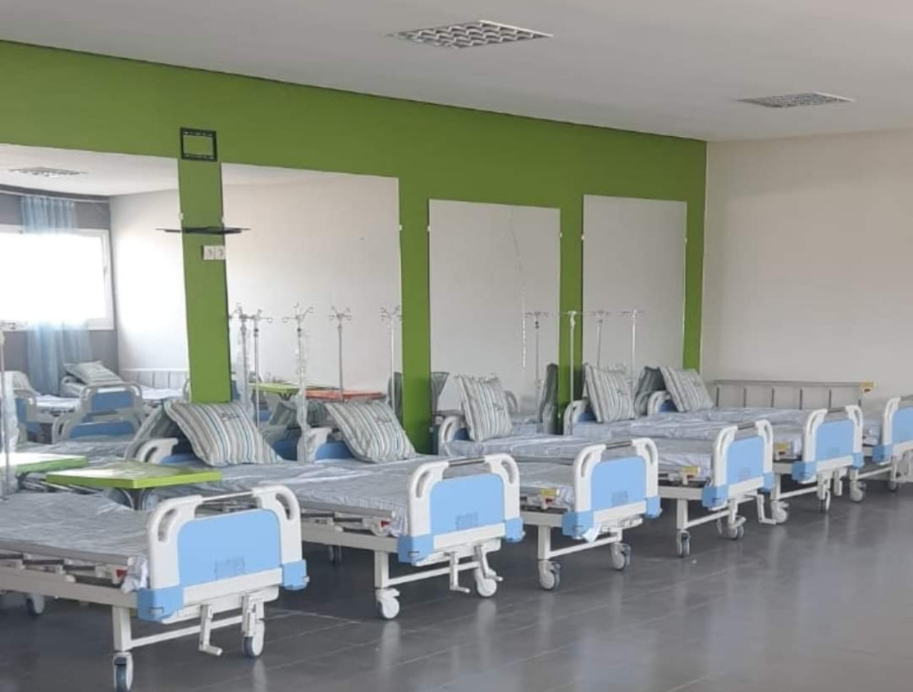 8 حالات بقسم الإنعاش بمستشفى القرب  بإمزورن الحسيمة