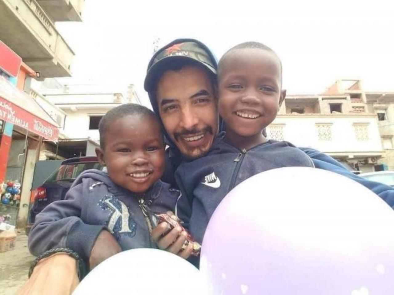 صورة الشاب الذي تم إحراقه بالجزائر