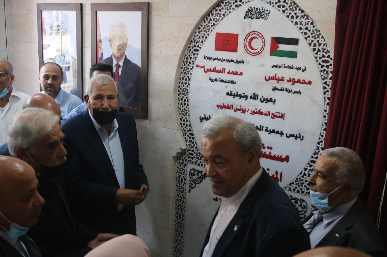 بدعم من الملك محمد السادس.. افتتاح مستشفى القدس التخصصي في غزة