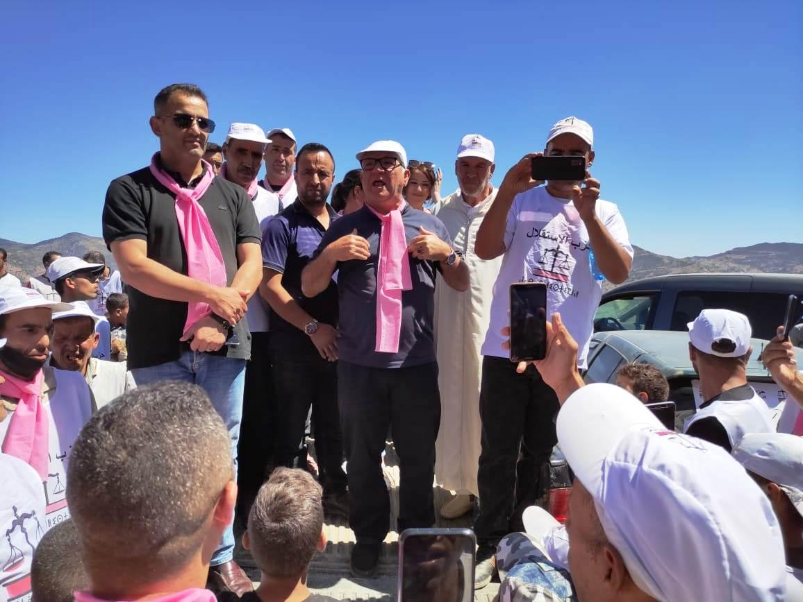 حفاوة واحتفالية بجماعات الحسيمة بمثابة التصديق على التصويت للميزان