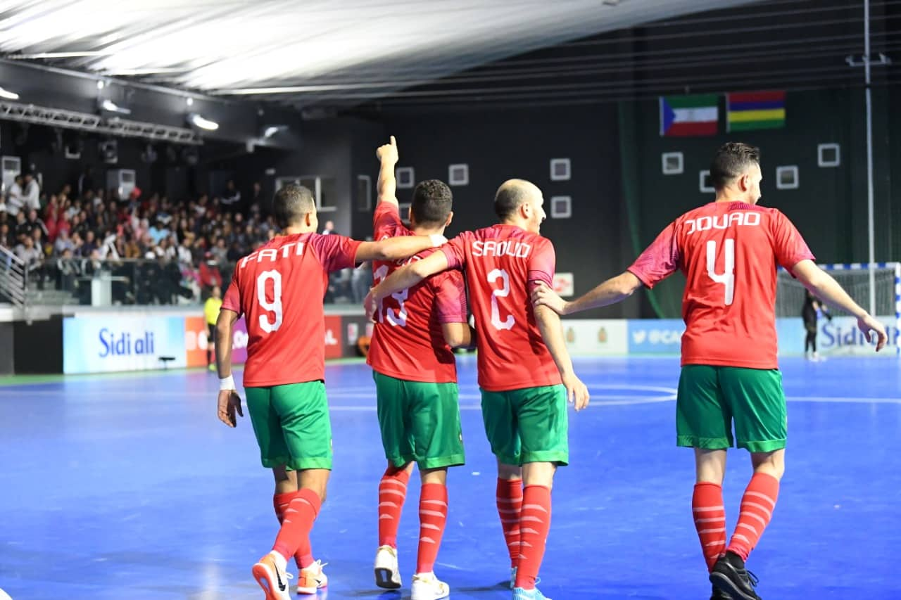 المنتخب المغربي للفوتسال يخرج مرفوع الرأس من كأس العالم أمام البرازيل