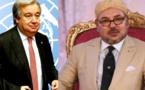 الملك محمد السادس يجري مباحثات هاتفية مع غوتيريش
