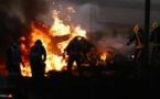حادث مروع في سباق فورمولا 1 البحرين