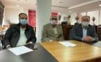 تسليم السلط بين اللجنة المؤقتة ومصطفى أوراش