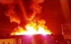 بالفيديو.. الإعلام الجزائري يُحول حريق بجوطية إلى قصف حربي بـ«الكركرات»
