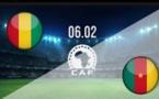 البث المباشر لمباراة غينيا والكاميرون