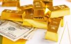 إرتفاع سعر الذهب وهبوط الدولار