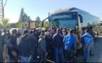 سخط عارم بمدينة الدار البيضاء بعد تخريب الحافلات الجديدة وسائقو «الطاكسيات» يحتجون بالنواصر