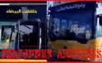 قاصران يخربان حافلة للنقل الحضري من الأسطول الجديد بالبيضاء