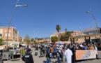 مسيرة للأساتذة المتعاقدين ببني ملال وحناجر الغاضبين والغاضبات تطالب بإسقاط التعاقد