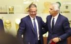 لقجع يجتمع مع خليلوزيتش لوضع خارطة طروق لتصفيات كأس العالم قطر 2022