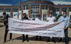 """أساتذة باحثون  بالمدرسة الوطنية للعلوم التطبيقية يحتجون ضد """"احتجاز"""" المدير لملفات ترقيتهم"""