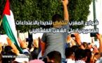 كباقي دول العالم.. شوارع المغرب تنتفض تنديدا بالاعتداءات الصهيونية على الشعب الفلسطيني