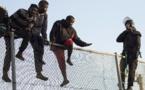مهاجرون يقتحمون السياج الحدودي لمدينة مليلة المحتلة