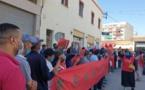 ساكنة منطقة سيدي بوزكري مكناس تنتفض من أجل تسوية وضعيتها