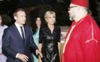 عاهل المغرب يهنئ رئيس فرنسا بمناسبة احتفال بلاده بعيدها الوطني