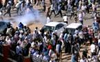الشرطة تطلق الغاز المسيل للدموع على محتجين بالخرطوم