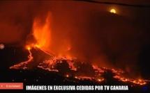 فيديو.. ثوران بركان الكناري الذي رصدته وسائل إعلام إسبانية